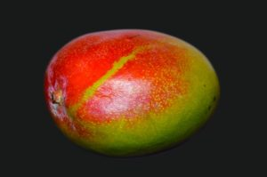 red and green mango
