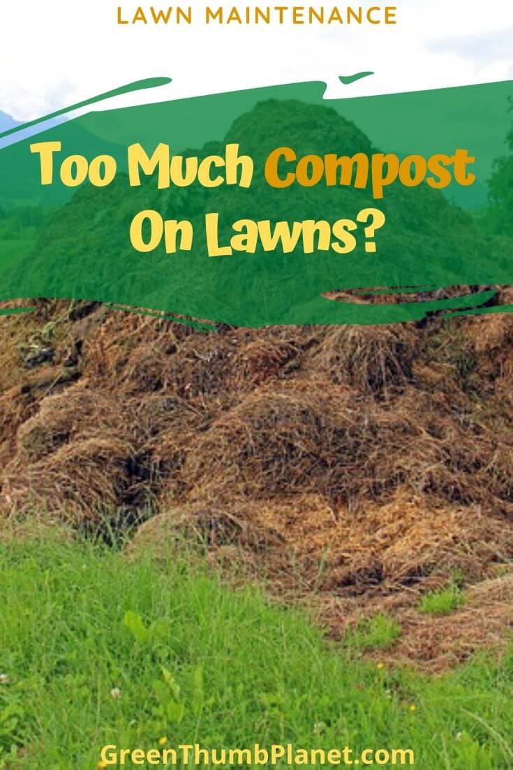 Too Much Compost On Lawns
