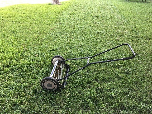 mow for a greener lawn