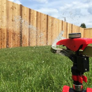 how often to water yard with sprinkler system