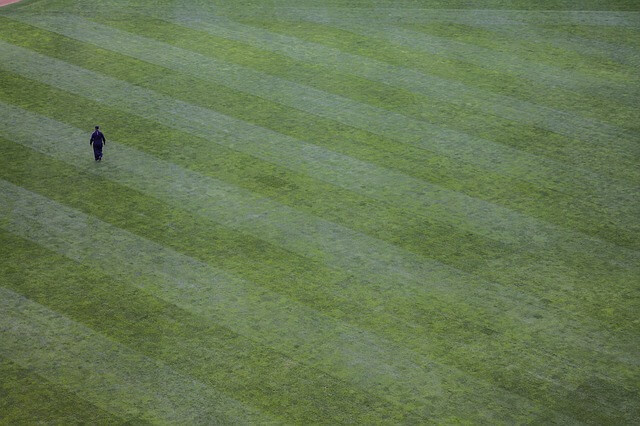 techniques for striping patterns lawn